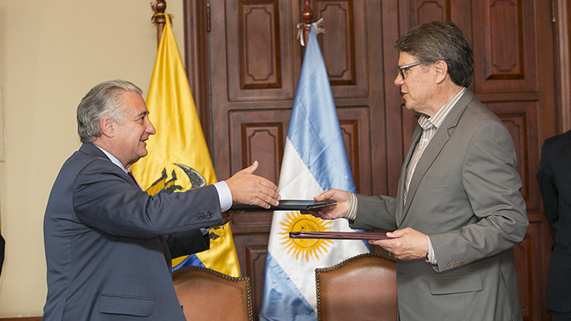 Ecuador And Argentina Signed Agreements On Social Security And